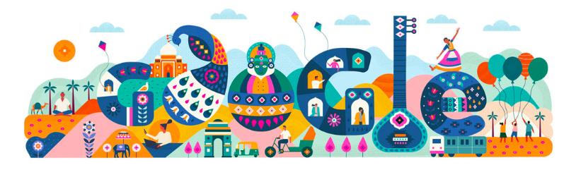 Google Doodle - India Republic Day
