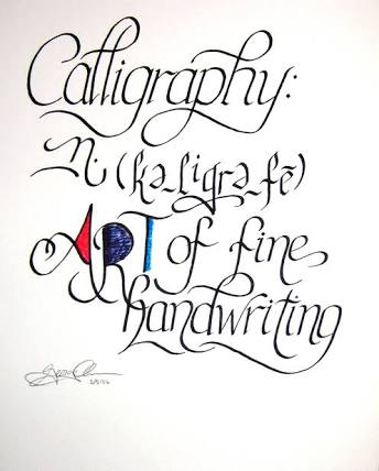 careers in calligraphy - get set resumes 3
