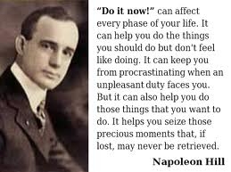 Napoleon Hill way of writing resume