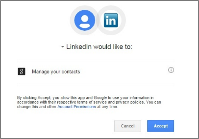 how to create a linkedin profile - import contacts