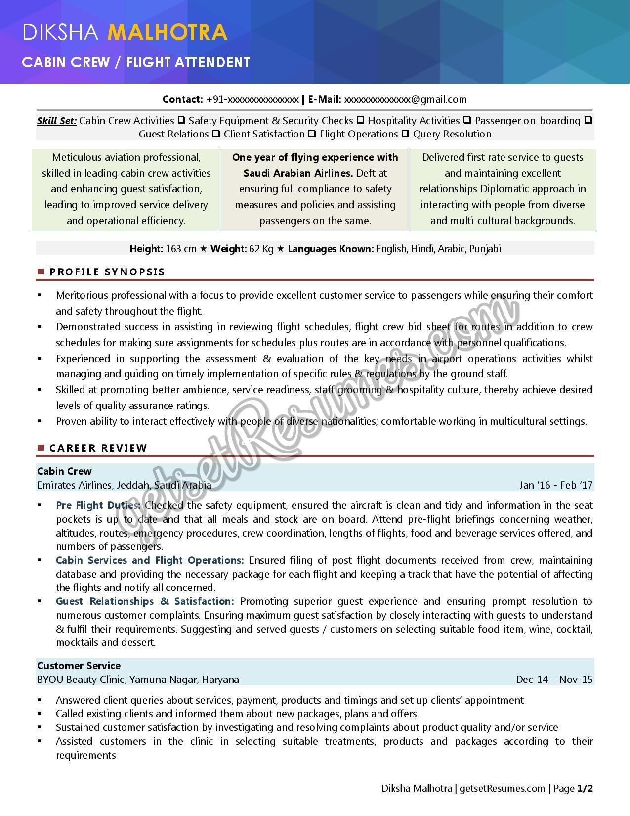 resume samples  u0026 case studies